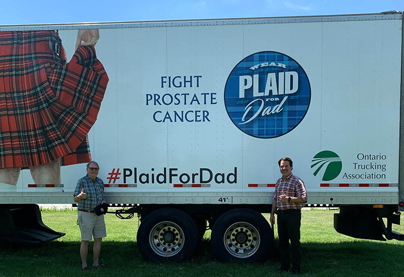 fight prostate cancer - plaid for dad 2020